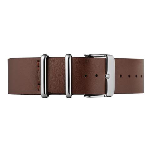Brown Leather Nato Strap