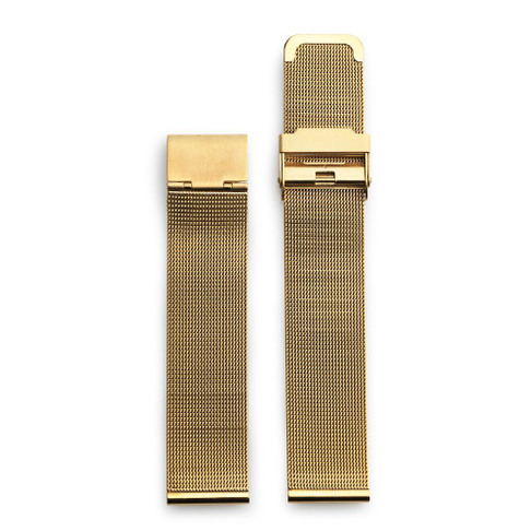 Gold Metal Mesh Wristband