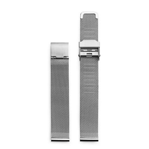 Silver Metal Mesh Wristband