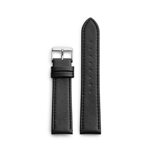 Black Vegan Leather Strap