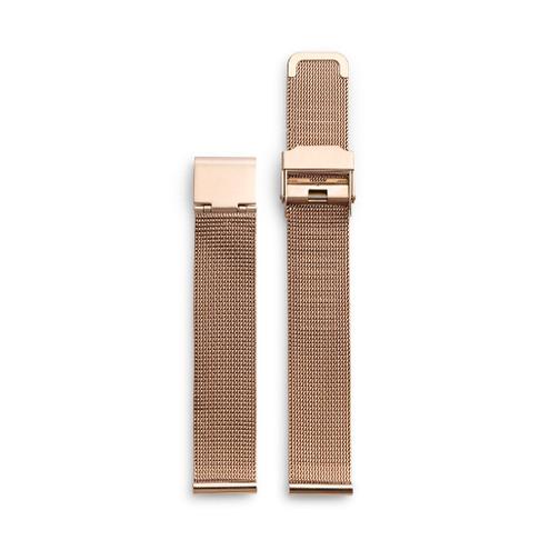 Rose Gold Metal Mesh Wristband
